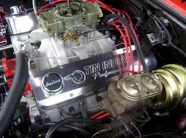 "Billet-TEK valve cover clearance with 7"" dual diaphram brake booster"