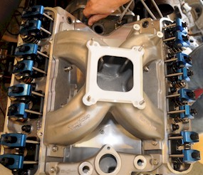KRE North Wind installed on Project CF-71's 440 cid engine