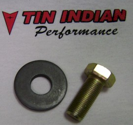 TIP crank bolt and washer