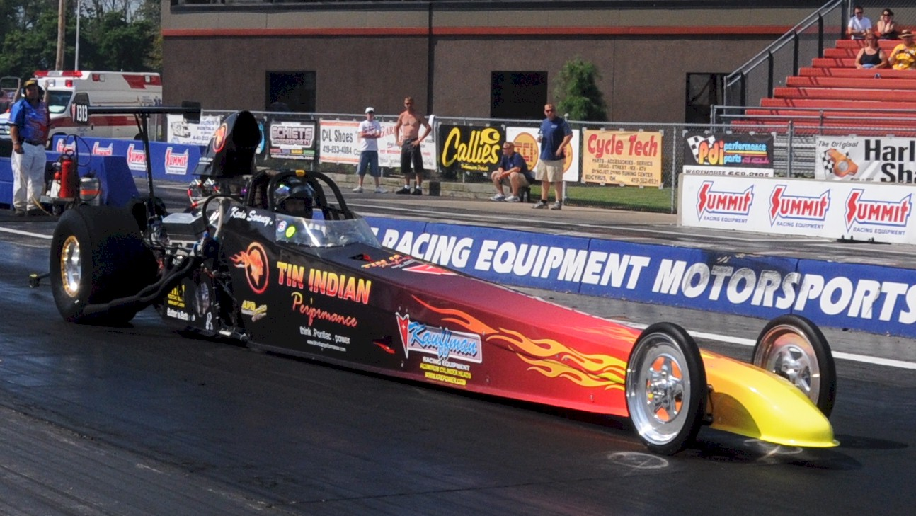 TIP digger goes 6.81 @ 192.28 Quickest & FASTEST NA Pontiac on the Planet!