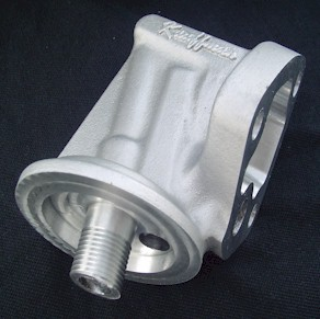 KRE Pontiac Oil Filter Housing