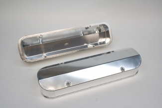 PRW polished anodized Pontiac valve covers