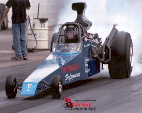Tin Indian Performance pontiac dragster 2005 at VMP