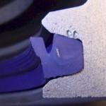 Pontiac rear main seal TIP-M300 installed in stock cap