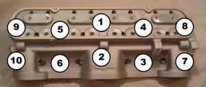 Pontiac Head Bolt Torque Sequence