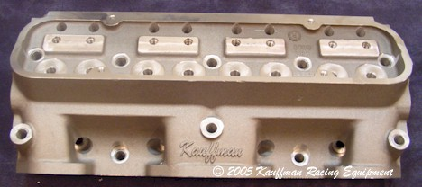 kauffman aluminum high port head