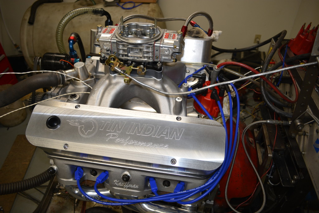 Pontiac 535 Pump gas engine 672 hp 710 tq Steve Galea