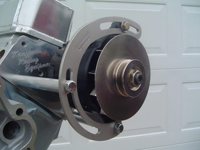 Pontiac alternator relocation kit TIP-029 1