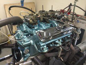 Charlie Bowers 1966 389 engine