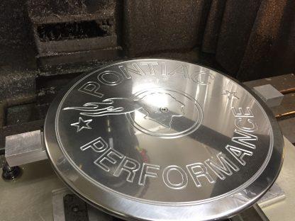 TIP Logo Pontiac Performance Air Cleaner Lid 3