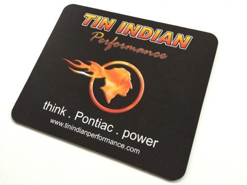 Tin Indian Performace Logo mouse pad 1