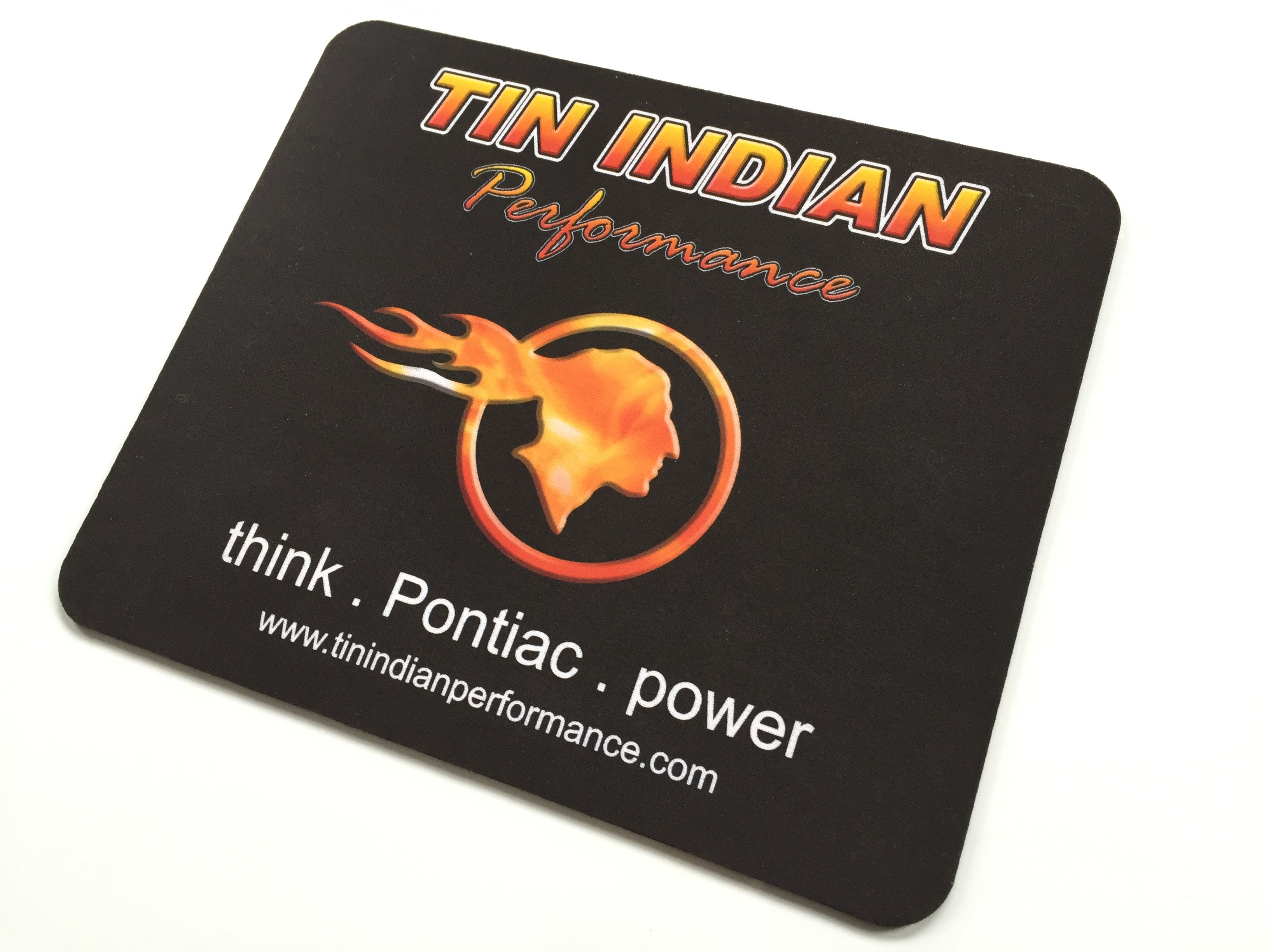 Tin Indian Performace Logo mouse pad 1