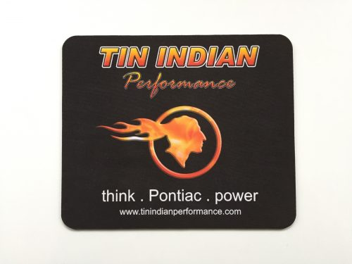 Tin Indian Performace Logo mouse pad 2
