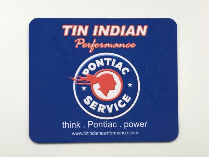 Tin Indian Performace Pontiac Service Logo mouse pad 2