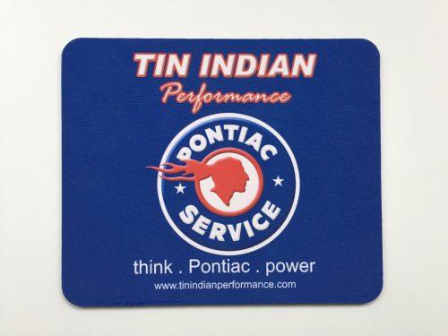 Tin Indian Performace Pontiac Service Logo mouse pad 2