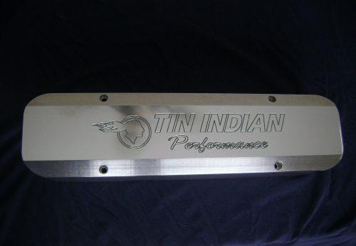 TIP Logo Billet TEK Pontiac Valve cover 1