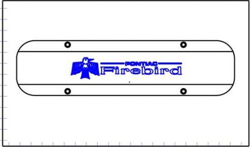 Early Pontiac Firebird Logo CAD for site