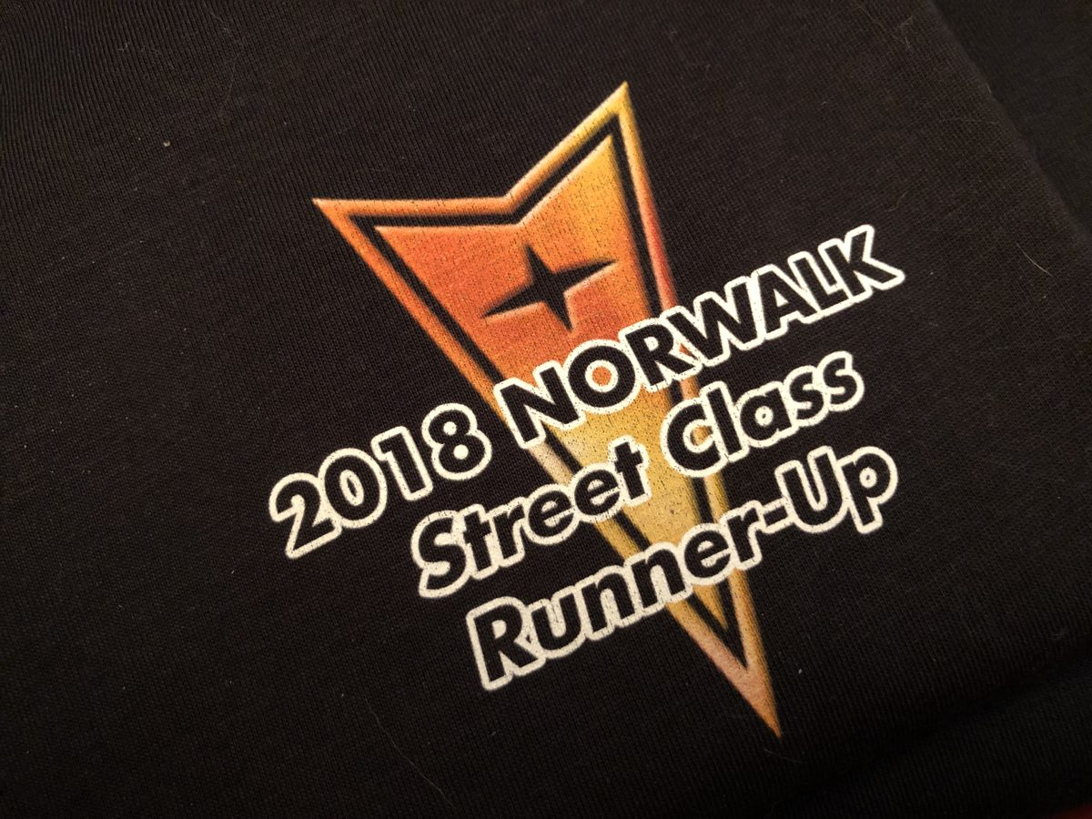 Street Class Runner up shirt