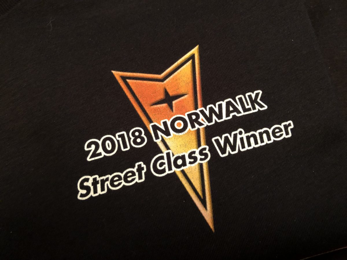 2018 Norwalk Street Class Winner Shirt