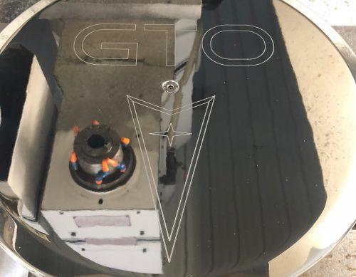 Pontiac GTO Logo Air Cleaner Lid 2