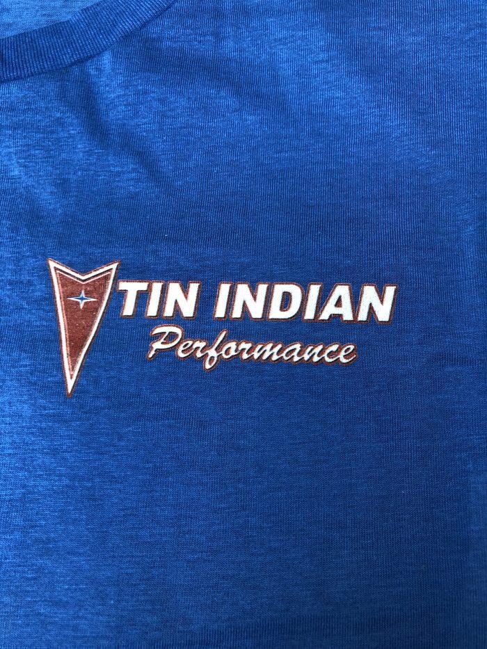 Pontiac Service logo T Shirt left chest
