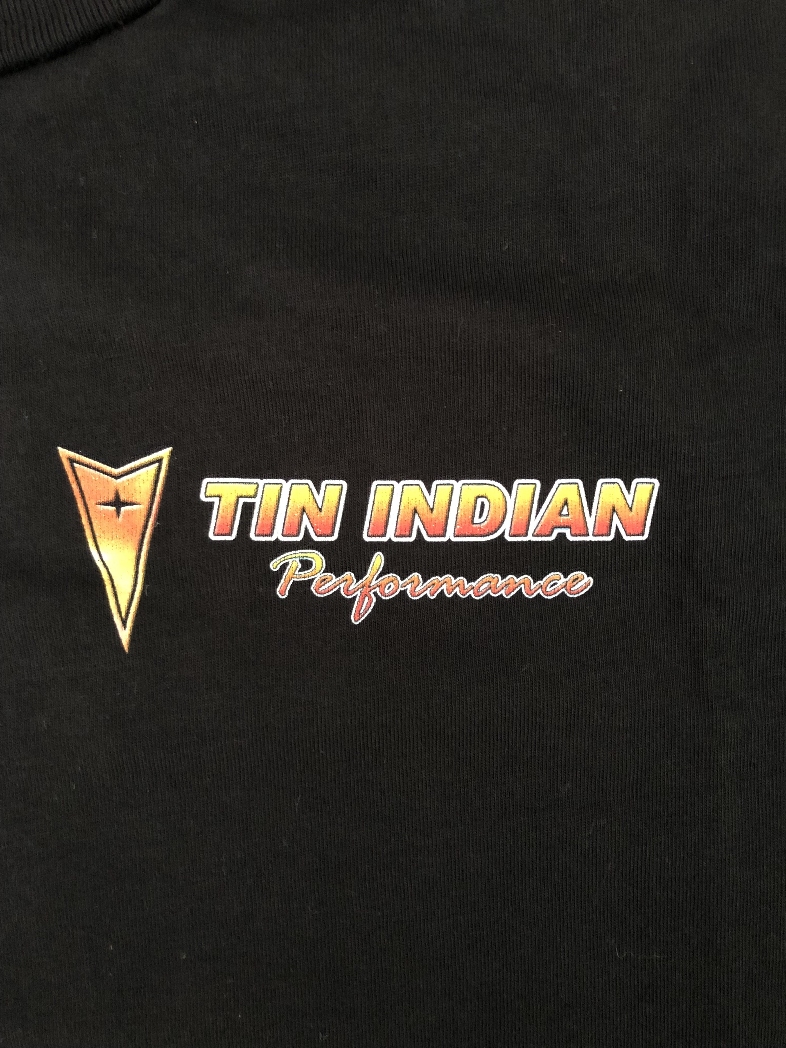Tin Indian Performance Team Shirt Left Chest
