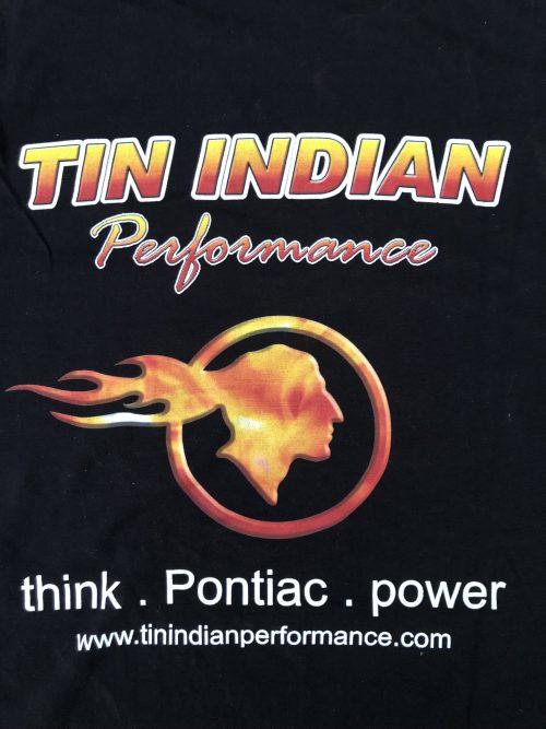 Tin Indian Performance Team Shirt logo back
