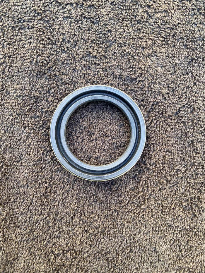 Pontiac timing cover crank seal back