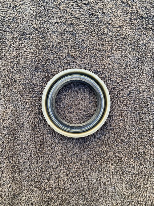 Pontiac timing cover crank seal front