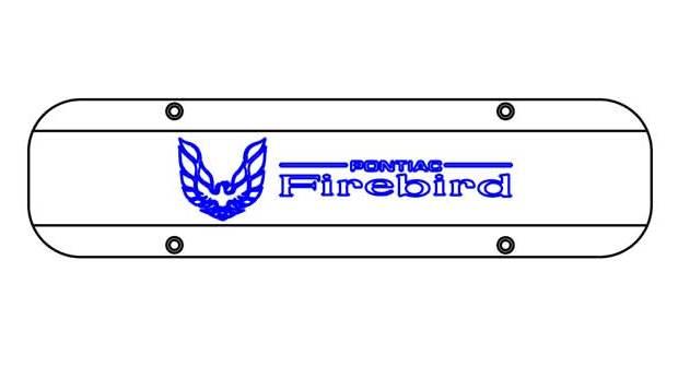 Late Firebird /Disco Sled and Pontiac Firebird logo
