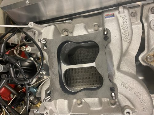 RPM shape 1 inch spacer on Performer RPM intake