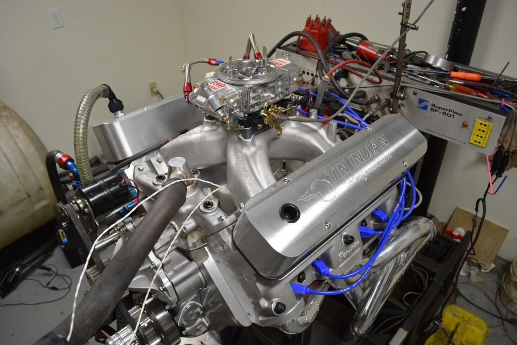 Pontiac 535 Pump gas engine 672 hp 710 tq Steve Galea 4