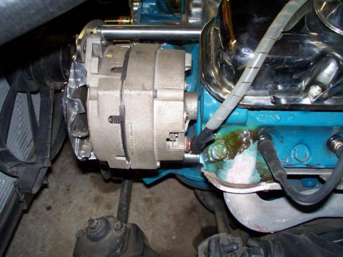 Pontiac alternator relocation kit HTR2