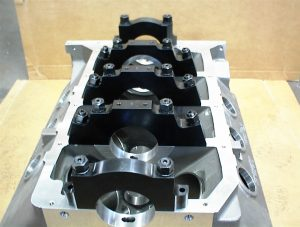 MR-1 Pontiac block splayed mains
