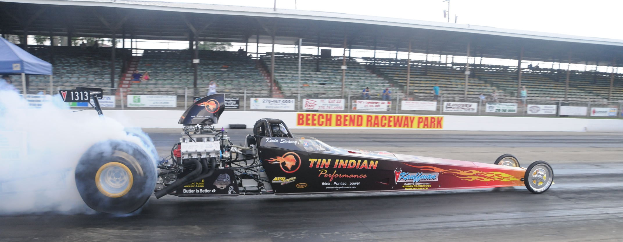 Tin Indian Performance Dragster 2015 Beech Bend