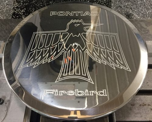Pontiac Early Firebird Air Cleaner Lid 1