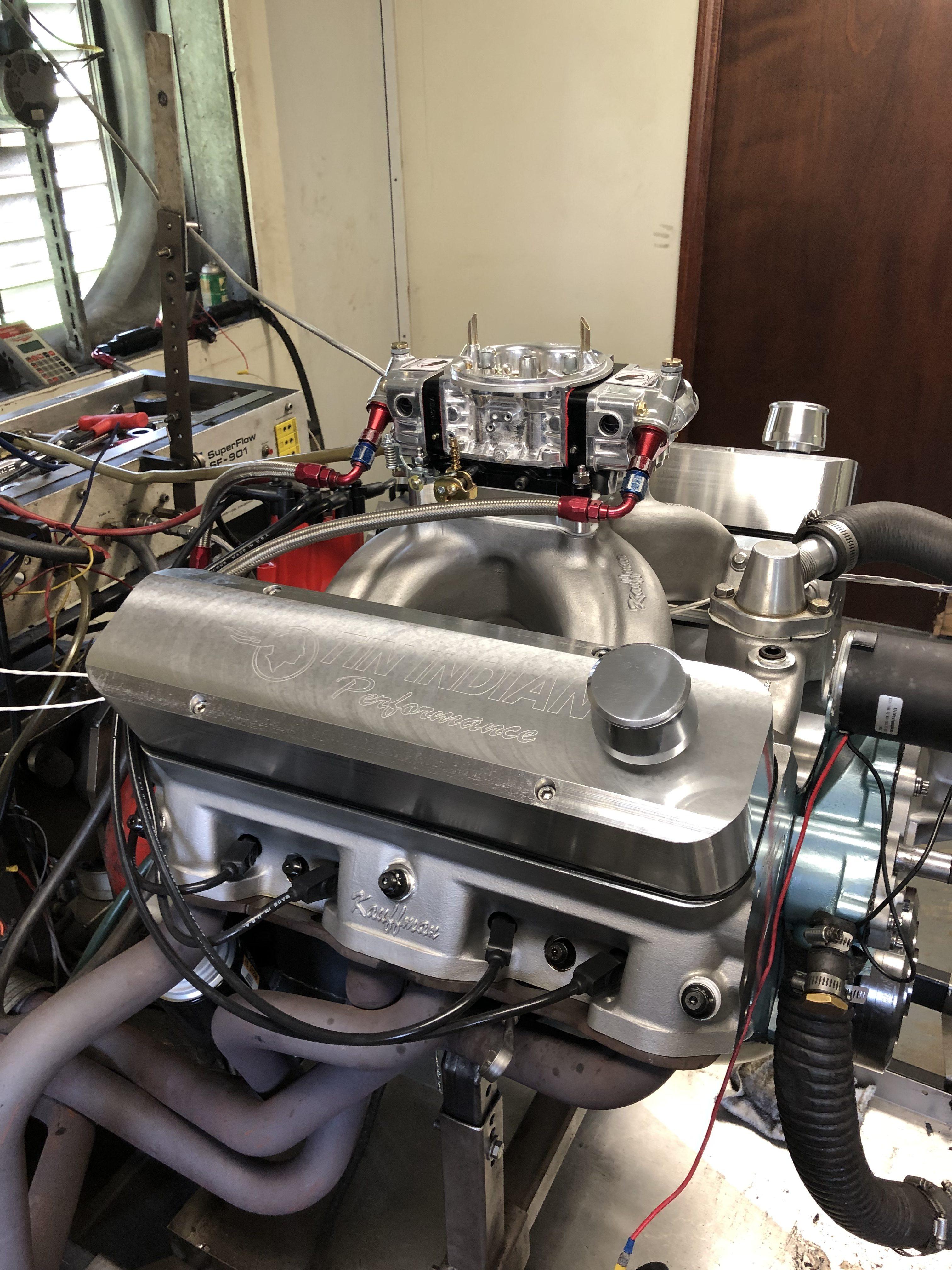 Doug Grey 600 hp Pontiac 455 - 5