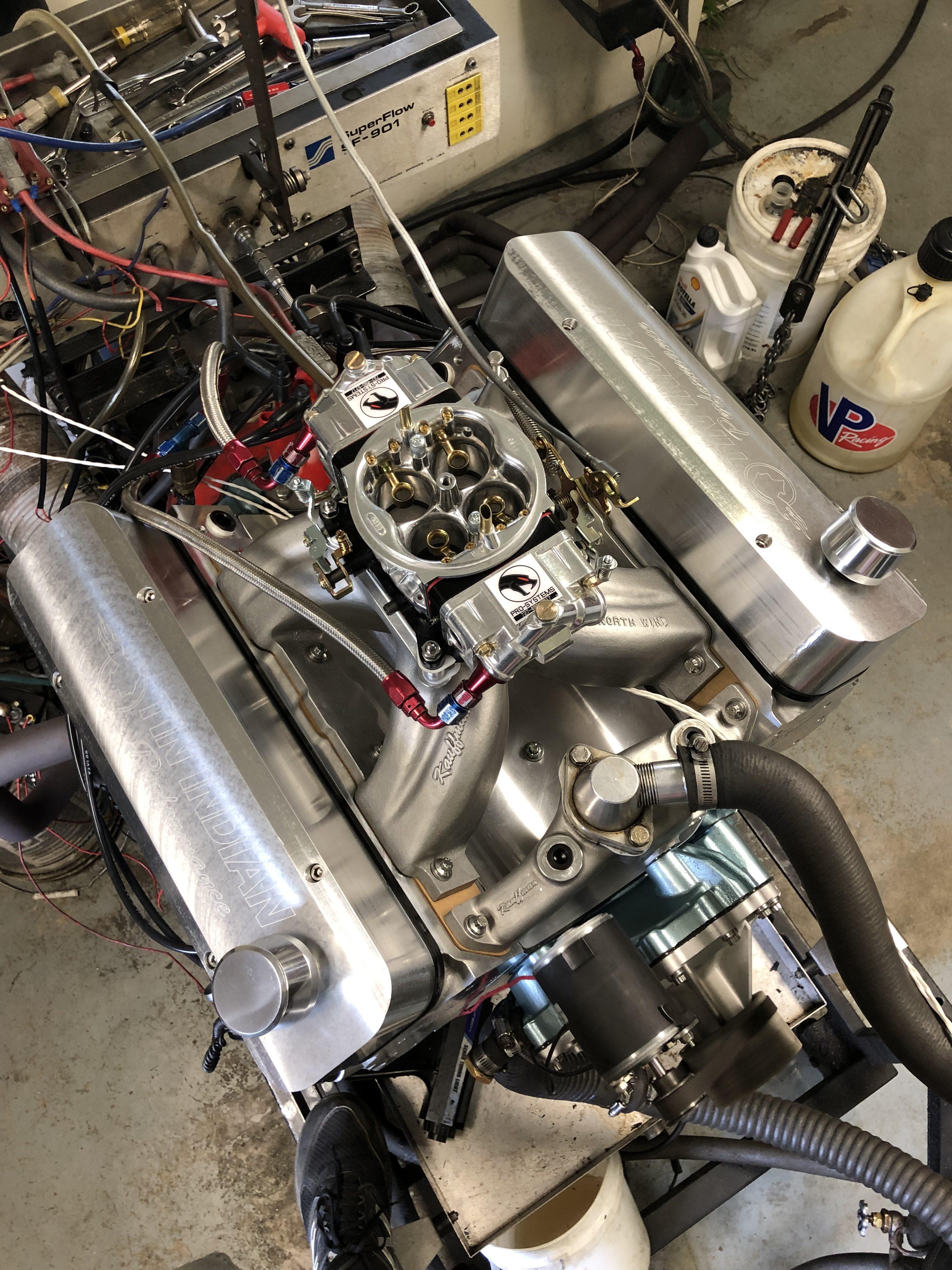 Doug Grey 600 hp Pontiac 455 - 7