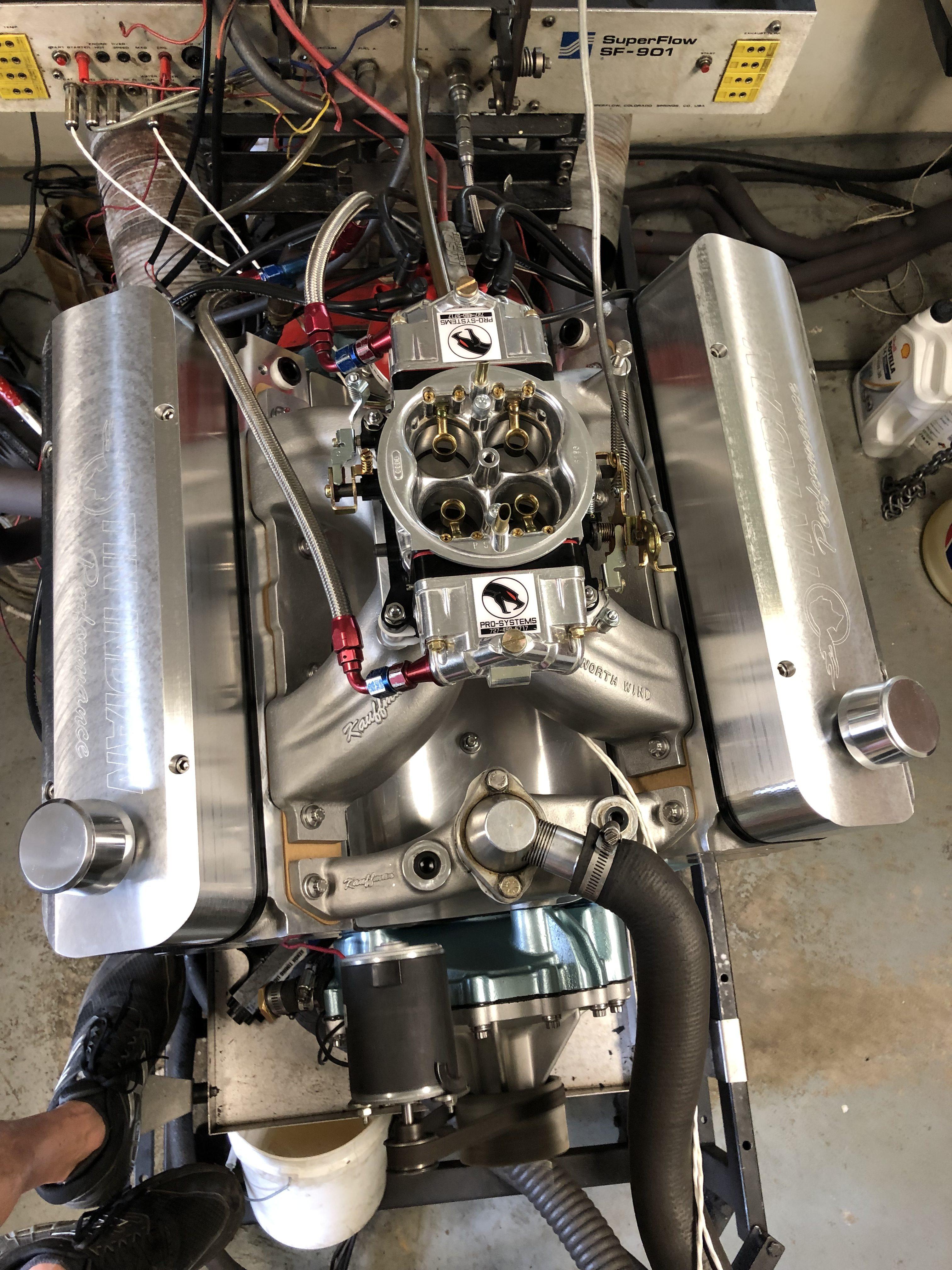 Doug Grey 600 hp Pontiac 455 - 8