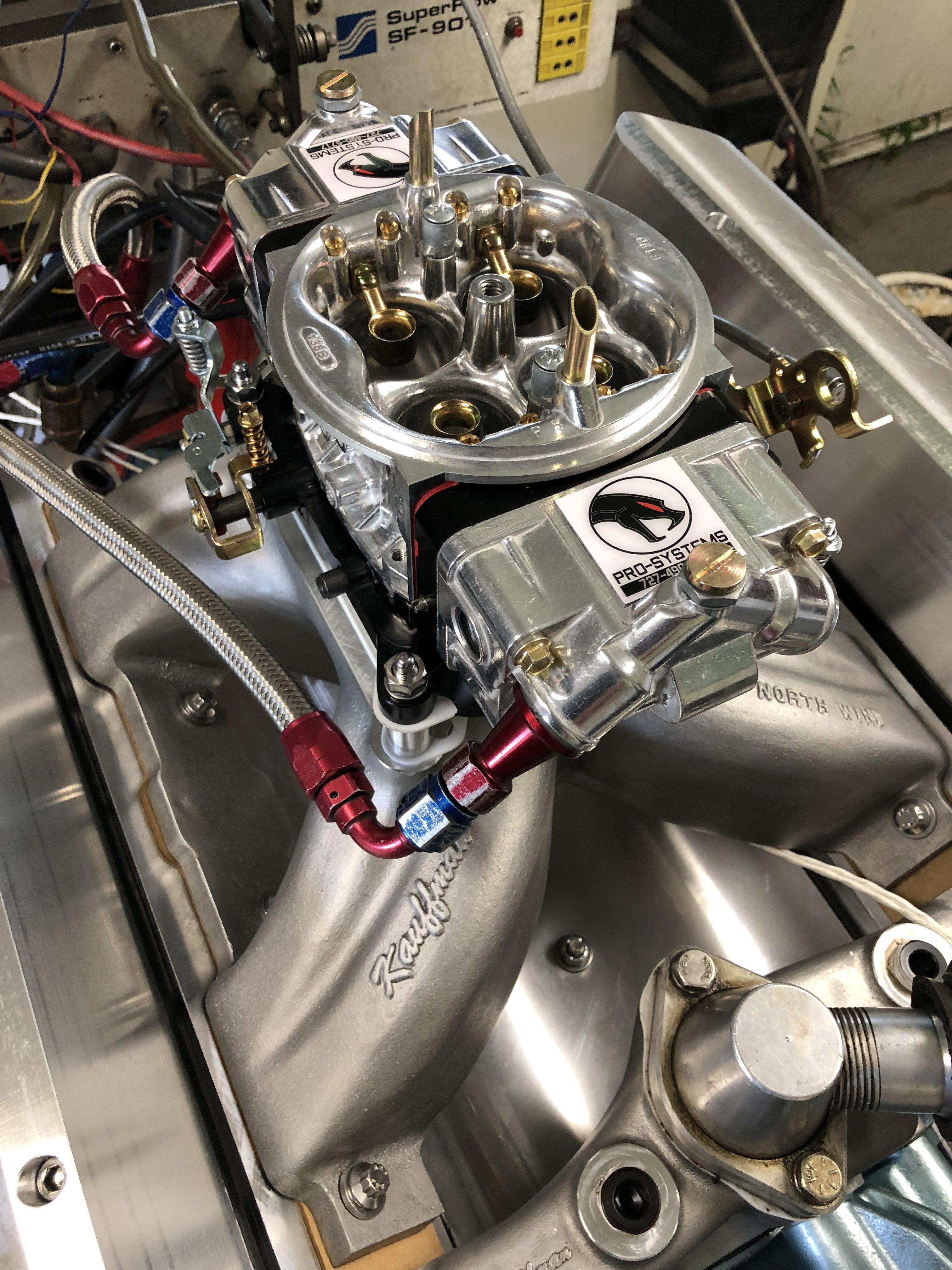 Doug Grey 600 hp Pontiac 455 - 9