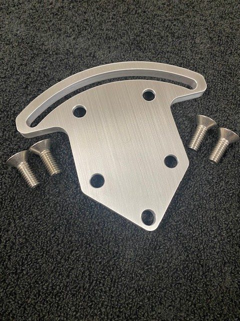 Moroso pump bracket back